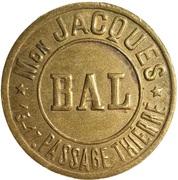 Bal au Petit Balcon - Maison Jacques - – revers