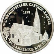 Castrop-Rauxeler Weihnachtstaler (St. Lambertus Kirche) – avers