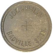 1 Dollar - Joe. Shibley (Radville, Saskatchewan) – avers