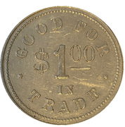 1 Dollar - Joe. Shibley (Radville, Saskatchewan) – revers