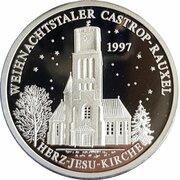 Weihnachtstaler - Castrop-Rauxeler (Herz-Jesu-Kirche) – avers