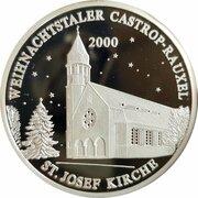 Weihnachtstaler - Castrop-Rauxeler (St. Josef Kirche) – avers
