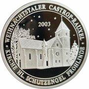 Weihnachtstaler - Castrop-Rauxeler (Kirche Hl. Schutzengel Frohlinde) – avers