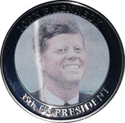 Jeton - John F. Kennedy (35e Président) – avers