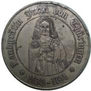 Médaille - 850th Anniversary of Runneburg (Judith of Hohenstaufen) – avers