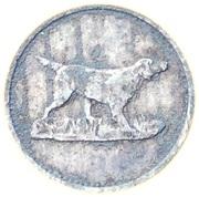 Spiel Marke (Chien et taureau) – avers