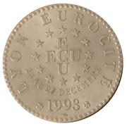 1 Écu (Lyon Eurocité) – revers