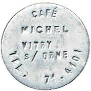 Café Michel - Vitry-sur-Orne (57) – avers