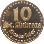 10 St. Andreas Klostertaler – avers