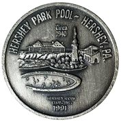 Token - Hershey Park Pool (Hershey, Pennsylvania) – avers