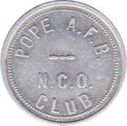 50 Cents - N.C.O. Club (Pope Air Force Base, North Carolina) – avers