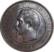 Jeton - 10 centimes module de S.M.I. Visite de la monnaie – avers