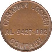 Token - Canadian Locker Company (Scarborough, Ontario) – avers