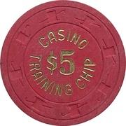 5 Dollars - Casino Training Chip – avers