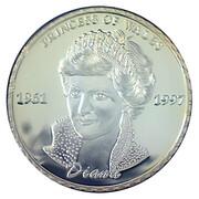 Médaille commémorative Princesse Diana Rose du Pays de Galles – avers