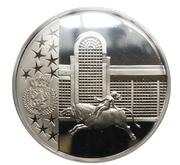 Médaille Belgique Joyeuses Entrées des Ducs de Brabant District Fédéral Bruxelles – avers