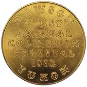 Jeton - Gold Rush Festival (Dawson City, Yukon) – avers