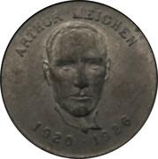 Shell Oil Token - Prime Ministers of Canada (1920-1926 - Arthur Meighen) – avers