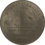Shell Oil Token - Prime Ministers of Canada (1920-1926 - Arthur Meighen) – revers