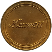 Jeton - Antique Car Coin Collection (Maxwell Speedster) -  avers