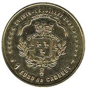 1 euro Cadenet (84) – revers