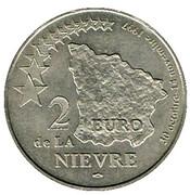 2 euro de la Nièvre (58) 1997 – revers