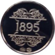 Jetons Belgique jetons souvenirs 1830-1980  1895 Van De Velde -  avers