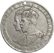 Médaille - George V & Mary Silver Jubilee (Emu wines, South Australia) – avers