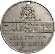 Médaille - George V & Mary Silver Jubilee (Emu wines, South Australia) – revers