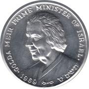 Peace Medal (Golda Meir Prime Minister of Israel) – avers