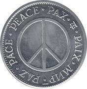 Peace Medal (Golda Meir Prime Minister of Israel) – revers