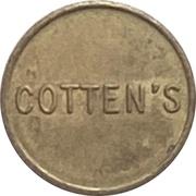Token - Cotten's (Owen Sound, Ontario) – revers