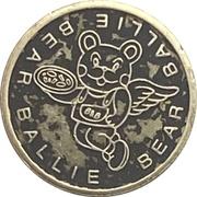 Arcade Token - Ballie Bear (Richmond, British Columbia) – avers