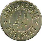 4 Kilos Boulangerie Pélaprat – avers