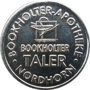 Bookholter Taler - Bookholter Apotheke (Nordhorn) – revers