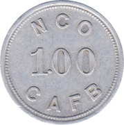 1 dollar - N.C.O. Open Mess (Charleston Air Force Base, South Carolina) – avers
