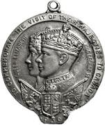 Medallion - George VI & Elizabeth (Visit to Canada 1939) – avers
