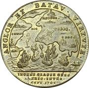Token - Expedition to Vigo Bay 1702 (Nurnberg)  – revers