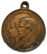 Médaille - Napoléon III - Visite en Savoie, Corse et Algérie – avers