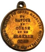 Médaille - Napoléon III - Visite en Savoie, Corse et Algérie – revers