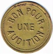 Jeton d'audition - QUERO - (Paris 75) – revers