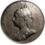Medal - Victoria, Diamond Jubilee Commemoration -  avers