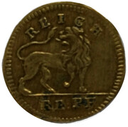 Germany - Counter Token – revers