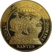 Chambre de Commerce de Nantes au bateau Or – avers