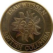Sunshine Dollar (Tsawwassen, BC) – avers
