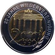 Jetons Allemagne Réunis depuis 20 ans – avers