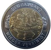 Jetons Allemagne Réunis depuis 20 ans – revers