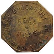 2 Dollars - Feely Mercantile Co. (Athol, Kansas) – avers