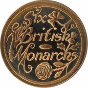 Token - Six British Monarchs (Edward VII) – revers