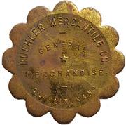 2½ Dollars - Buehler Mercantile Co. (Claflin, Kansas) – avers
